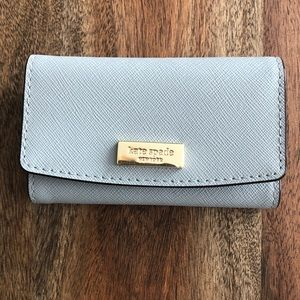 Kate Spade- Gray - Cardholder/key chain wallet